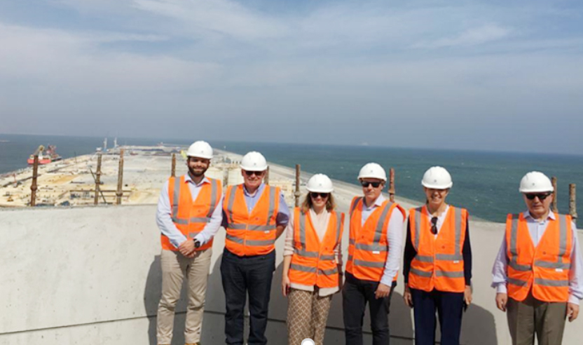 Special visit to Duqm to witness the evolution of the development of the port and the zone.