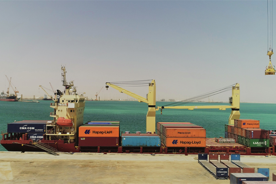 Hapag Lloyd makes its debut at Port of Duqm