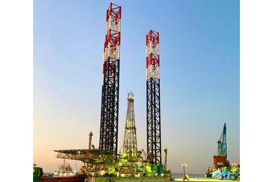 Rig Deepsea Treasure at PODC Commercial Quay
