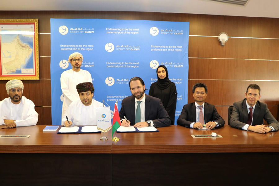 Bunkering Agreement inked between NIMR International & Port of Duqm Company